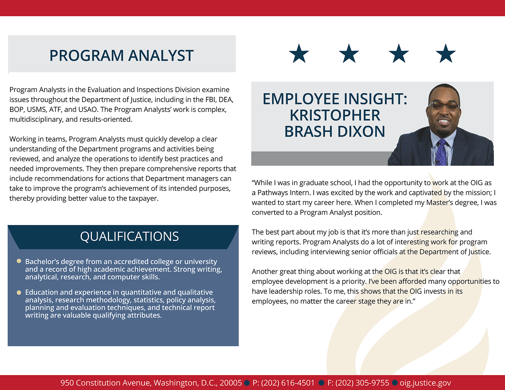 Learn more about the analyst employee experience