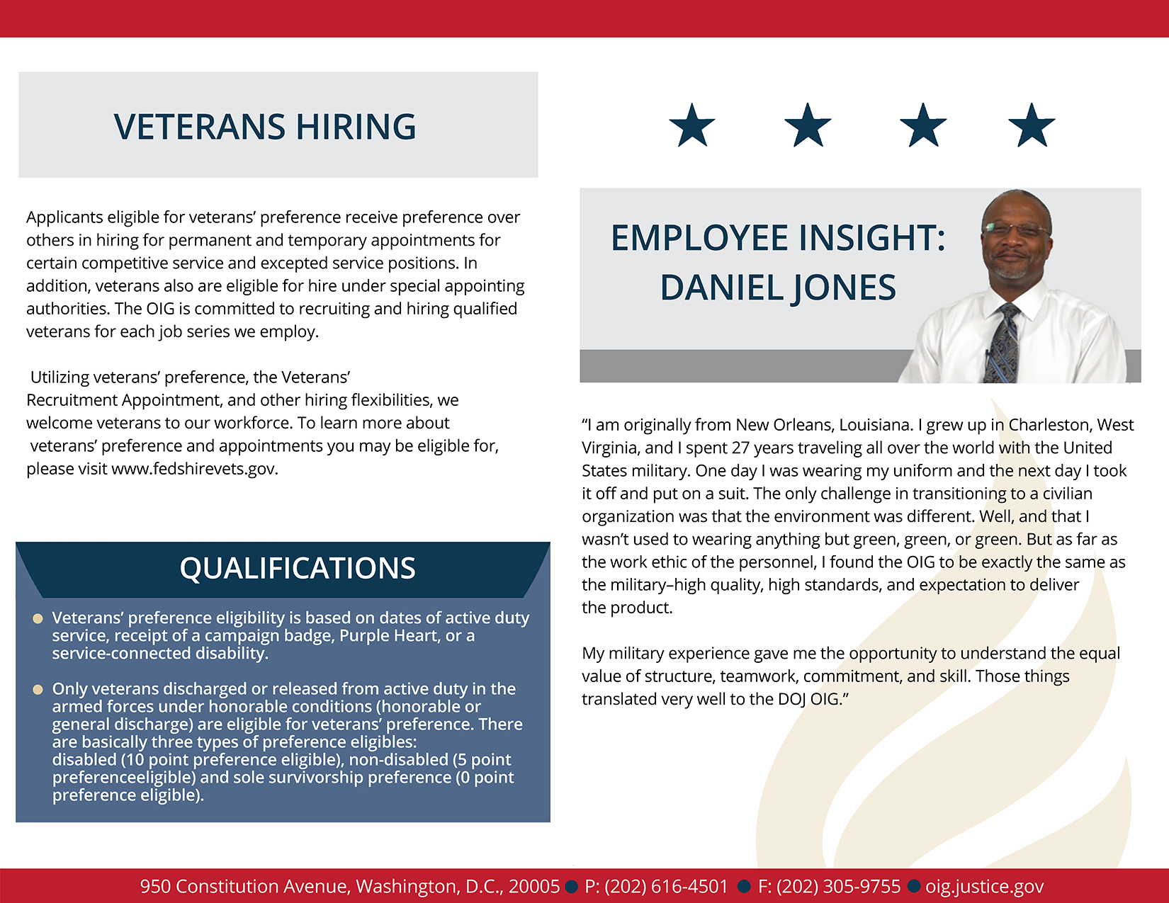 Read more about the veterans employee experience