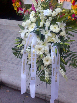 Sentner memorial wreath